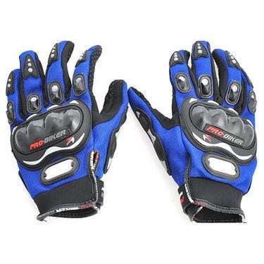 Pro Biker Gloves Full - Blue