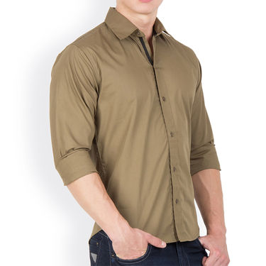 Pack of 5 Incynk Plain Cotton Shirt_qsc62