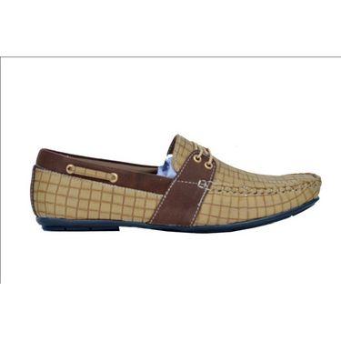 Randier  Casual Shoes R042 -Tan