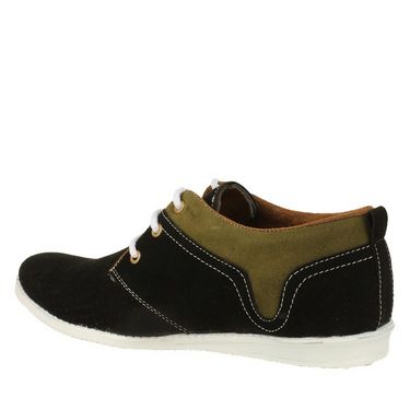 Randier Fox Leather Casual Shoes R062 -Black