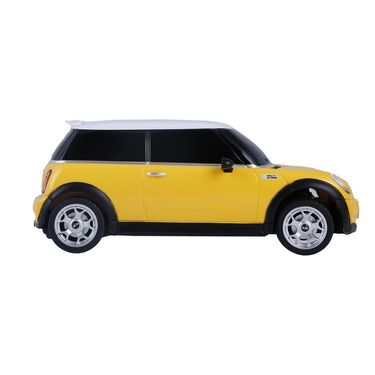 BMW Mini Cooper S 1:24 Remote Control Toy Car Model - Yellow