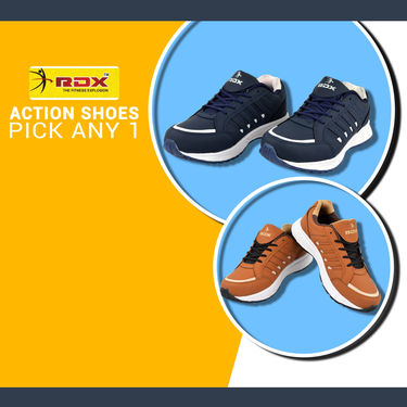 RDX Action Shoes (CS7E) - Pick Any 1