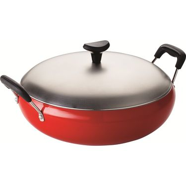 RECON GrandChef Non Stick Deep Kadai 200mm Red_RGDK200R