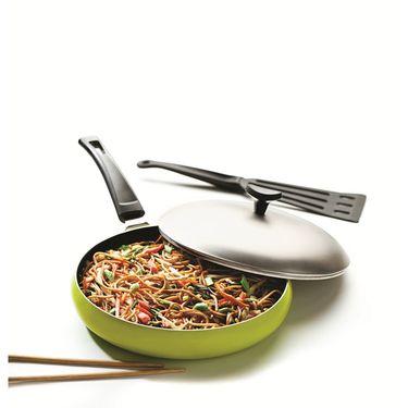 RECON GrandChef Non Stick Fry Pan 250mm Green_RGFP250G