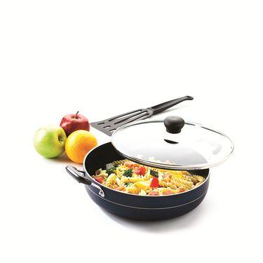 RECON MasterChef Non Stick Multi Pan with Glass Lid 235mm (2.5ltr)_RMGMP235