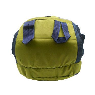 Donex Polyster Rucksack RSC00671 -Green & Blue