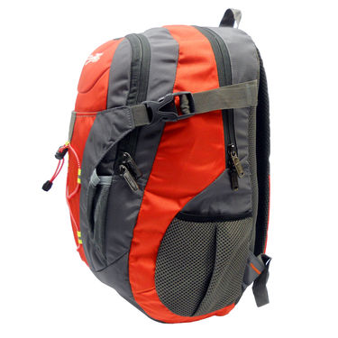 Donex Polyster School Backpack RSC00681 -Red & Grey