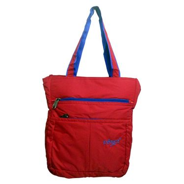 Donex Polyster Soft Shoulder bag Red_RSC00895
