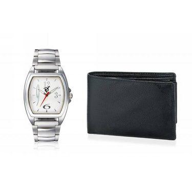 Combo of Rico Sordi Analog Wrist Watch + Wallet_RSD25_WW