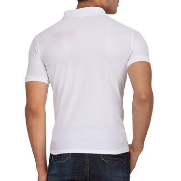 Pack of 10 Rico Sordi Half Sleeves Plain Tshirts_RSD758