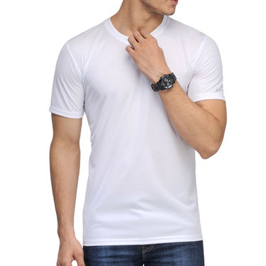 Pack of 4 Rico Sordi Half Sleeves Plain Tshirts_RSD762