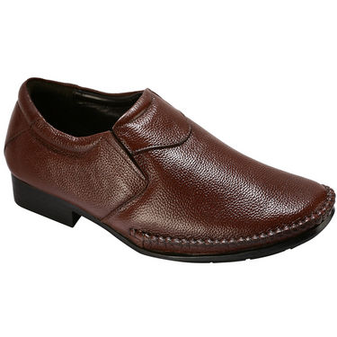Bacca bucci Genuine Leather Formal Shoes RY-020 - Brown