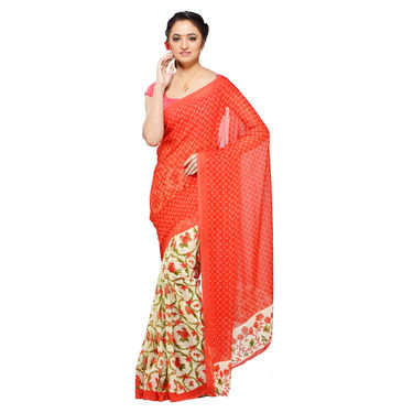 Rashmita Collection of 9 Printed Georgette Sarees by Pakhi (9G7)