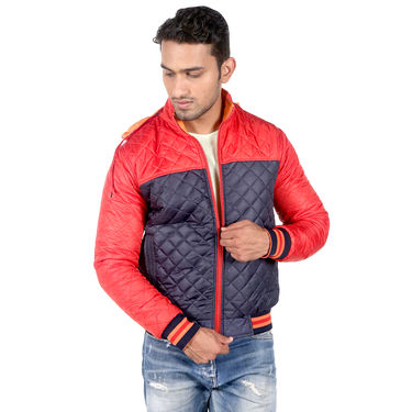 American Indigo Reversible Jacket For Men - Red & Orange