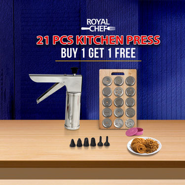 Royal Chef 21 Pcs Kitchen Press - Buy 1 Get 1 Free