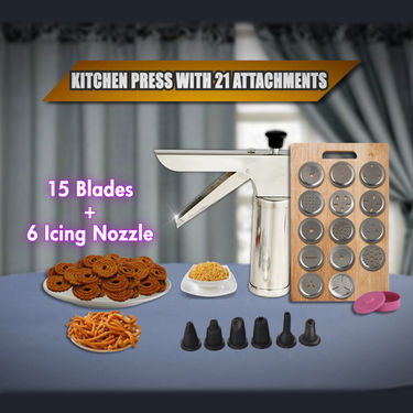 Royal Chef 21 Pcs Kitchen Press