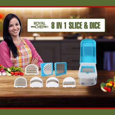 Royal Chef 8 in 1 Slice & Dice