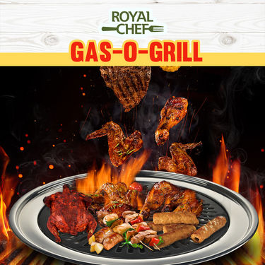 Royal Chef Gas-O-Grill + HDFC Life Insurance Cover
