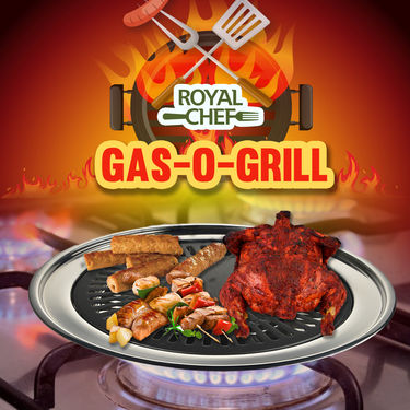 Royal Chef Gas-O-Grill