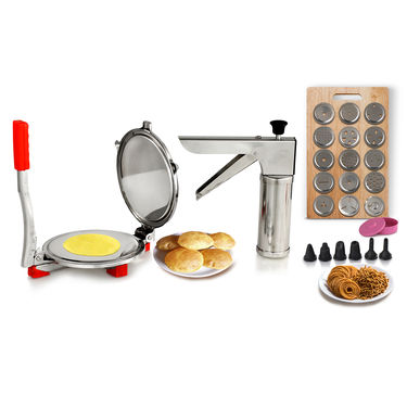Royal Chef Puri Press + 21 Pcs Kitchen Press