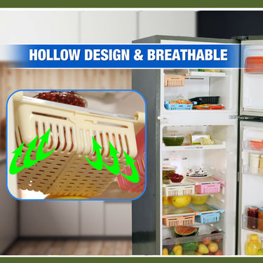 Royal Chef Set of 4 Expandable Fridge Rack