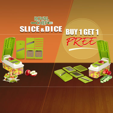 Royal Chef Slice & Dice - Buy 1 Get 1 Free