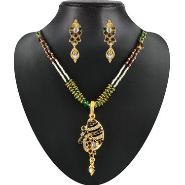 Sangani 17 Heavy Jewellery Set by Vellani