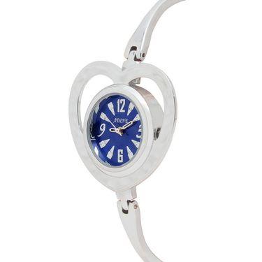 Adine Analog Round Dial Wrist Watch For Women_Rsw08 - Blue