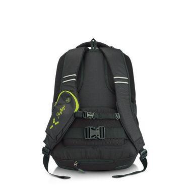 Skybags Black Laptop Backpack_Crew 05 Black