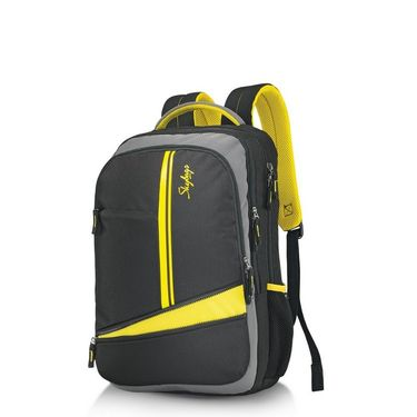 Skybags Yellow Laptop Backpack_Geek 03 Yellow