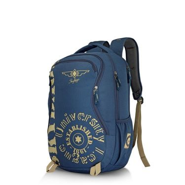 Skybags Blue Laptop Backpack_Raider 02 Blue