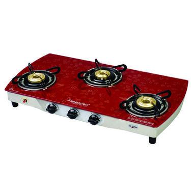 Signoracare SCLPG-2203AI 3B Glass Cooktop - Black
