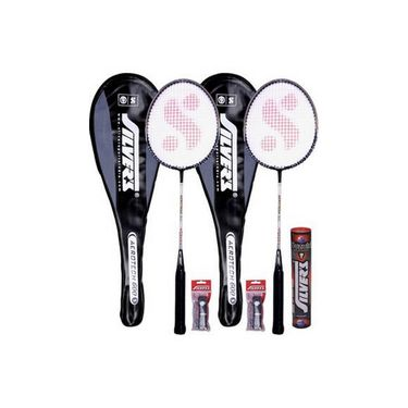 Silver's Pack Of 1 Aerotech Badminton Kit - Multicolor