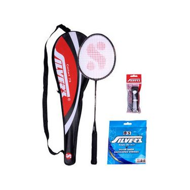 Silver's Pack of 1 Contact Badminton Kit - Multicolor