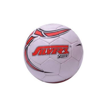 Silver's (Size-5) Leedo Football - White