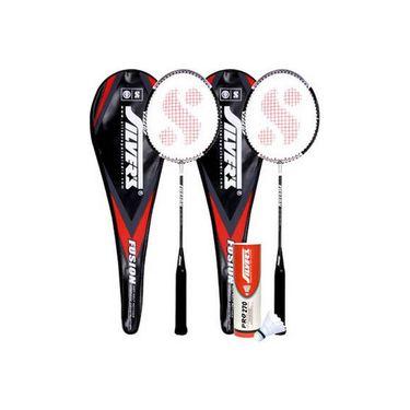Silver's Pack Of 2 Fusion Badminton Combo-4 - Multicolor