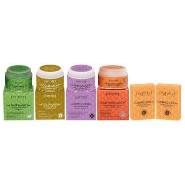 Natural Lustre Fairness Combo  - Orange Scrub Soap (Pack Of 2)