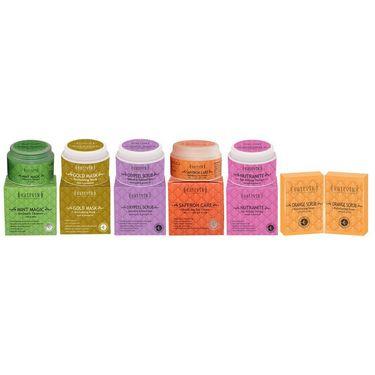 Restore And Natural Elasticity Combo  - Orange Scrub Soap