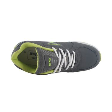 Branded Mesh Sports Shoes Sup5070 -Grey