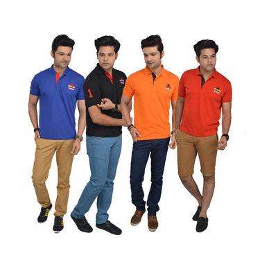 Scottish Club Pack of 4 Collar T-shirts (4SPT)