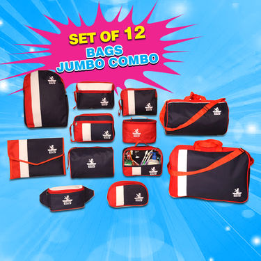 1115ae87f5f Buy Set of 12 Bags Jumbo Combo Online at Best Price in India on Naaptol.com