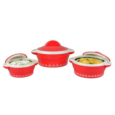 Set of 3 Designer Insulated Casserole