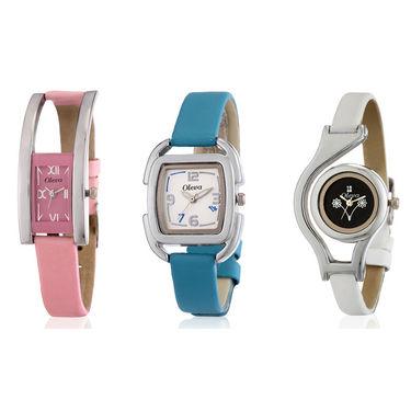 Set of 3 Wrist Watch