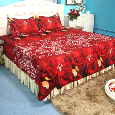 Pack of 5 - 3D Bedsheets (5BS21)