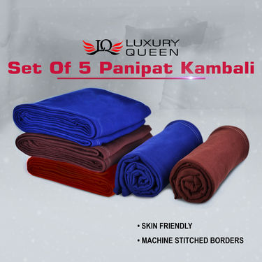 Set of 5 Panipat Kambali