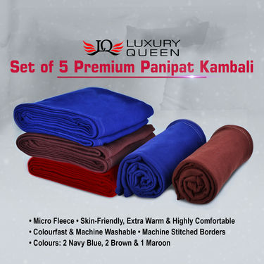 Set of 5 Premium Panipat Kambali