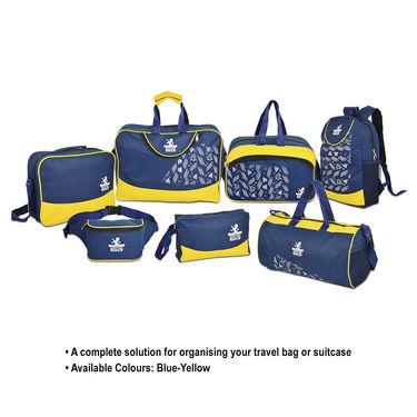 Set of 7 Diamond Designer Travel Bags