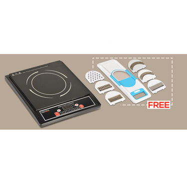 Sheffield Induction Cooktop + Free 6 in 1 Slicer