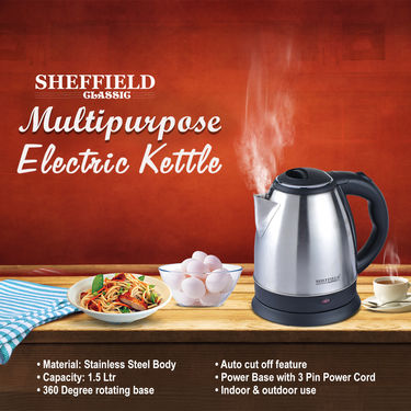 Sheffield Multipurpose Electric Kettle