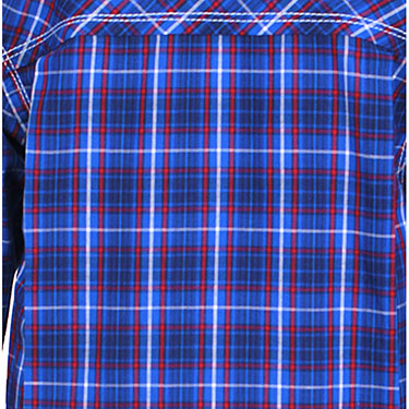 ShopperTree Checks Shirt for Boy - Blue